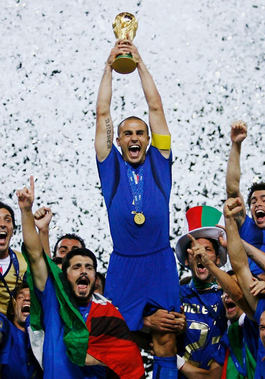 GettyImages_Nazionale Italia_Mondiale 2006_Cannavaro